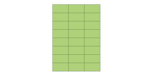 Avery Laser+Copy 37x70 groen 3450