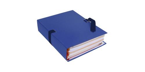 Lintmap uitschuifb. 320x240mm blau