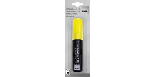 Sigel Krijtmaker geel 5-15mm afwas