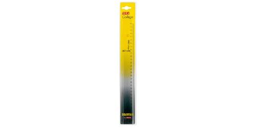 Kantoorliniaal Acryl 30 cm