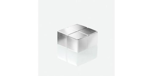 Sigel Magneet zilver 20x20x10mm
