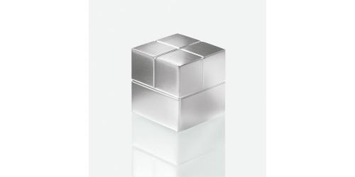 Sigel Magneet zilver 20x20x20mm