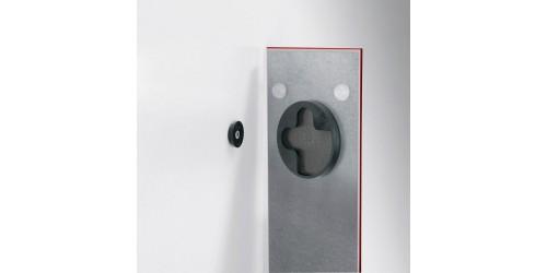 Sigel Magneetbord glas rood GL139