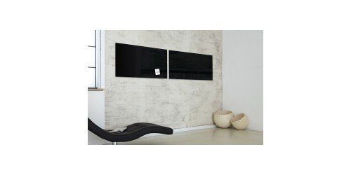 Sigel Magneetbord glas zwart GL145