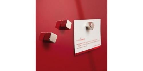 Sigel Magneetbord glas rood GL159
