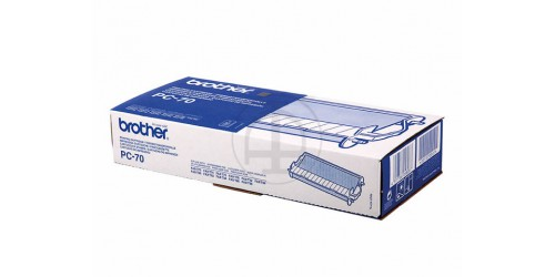 PC70 BROTHER FAX72 CARTRIDGE BLACK