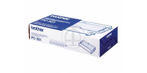 PC301 BROTHER FAX910 CARTRIDGE BLACK