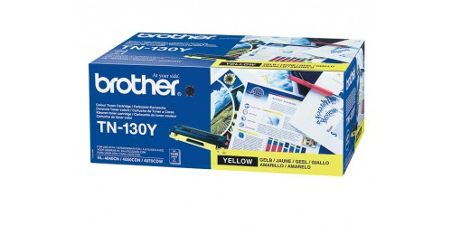 TN130Y BROTHER HL4040CN TONER YELLOW ST