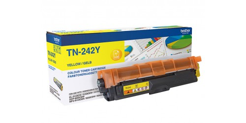 TN242Y BROTHER HL3142CW TONER YEL ST