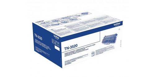 TN3520 BROTHER HLL6400DW TONER BLACK