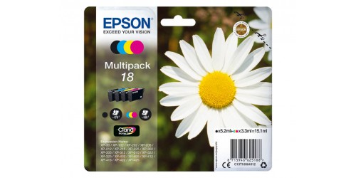 C13T18064012 EPSON XP30 INK (4) CMYK ST