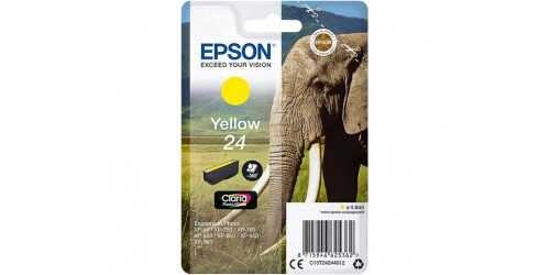 C13T24244012 EPSON XP750 INK YELLOW ST
