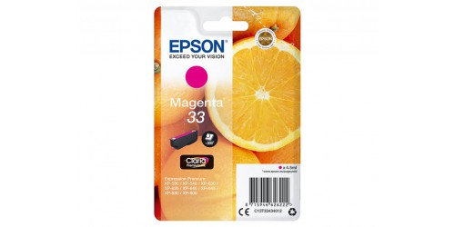 C13T33434012 EPSON XP530 INK MAGENTA ST