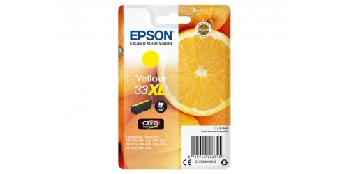 C13T33644012 EPSON XP530 INK YELLOW HC
