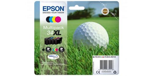 C13T34764010 EPSON WF3720DWF INK (4) HC