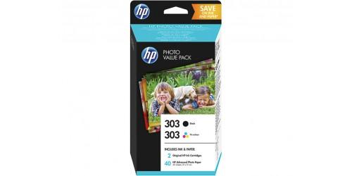 Z4B62EE HP ENVY PH6230 INK (2) BLK+COL