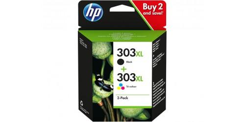 3YN10AE#UUS HP PH6230 TINTE (2) BLK+COL